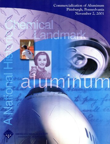 Commercialization of Aluminum - American Chemical Society