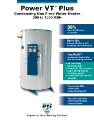 POWER VT PLUS (399 TO 1000 MBtu) - Pvi.com