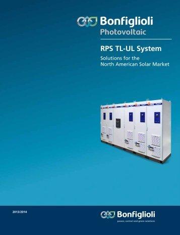 RPS TL-UL System - Bonfiglioli