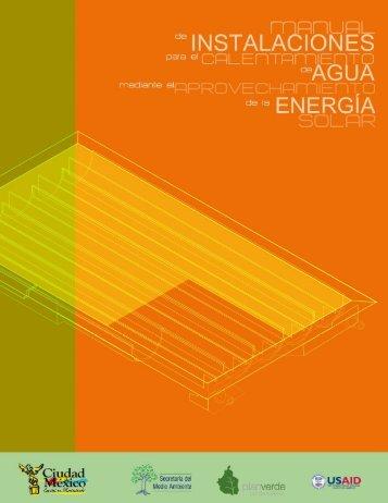 anexo a. aplicaciones solares de baja temperatura - Círculo Verde