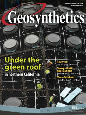 Geosynthetics, October 2008, Digital Edition