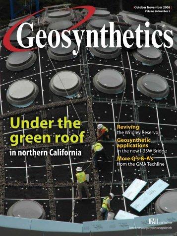 Geosynthetics, October 2008, Digital Edition