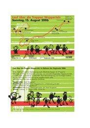 Lauf über die Treppen Wuppertals Sonntag 13. August 2006