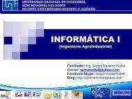 Presentación de PowerPoint - Ing. Sergio Navarro Hudiel