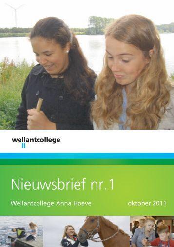 Nieuwsbrief nr.1 - Wellantcollege
