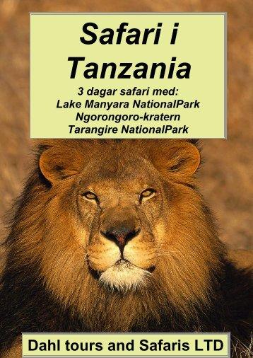 Lake Manyara Ngorongoro Tarangire - Dahl Safaris