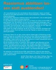 """""""Wir, Auszubildende aus drei verschiedenen ... - Migration-online"""