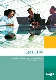 Sage CRM - INSIGMA  IT Engineering  GmbH