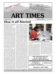 Summer (Jun, Jul, Aug) - Art Times