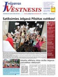 2013.gada 16.maijs Nr.20(307) - Jelgavas Vēstnesis