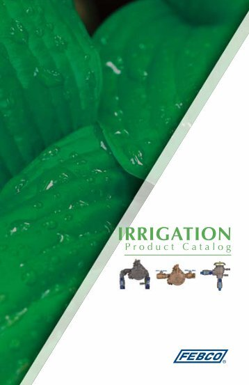 IRRIGATION - Febco