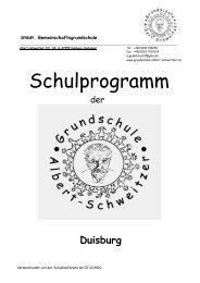 Schulprogramm Fließtext - Albert-Schweitzer-Grundschule