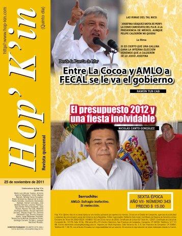 Entre La Cocoa y AMLO a FECAL se le va el gobierno