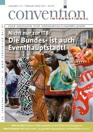 Die Bundes- ist auch Eventhauptstadt! - Convention-International