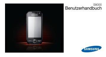 Samsung S8000 Bedienungsanleitung - Congstar
