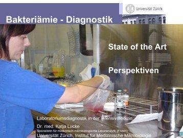 Bakteriämie - Diagnostik - Institut für Klinische Chemie