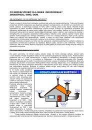 straty ciepła w budynku - Energia i środowisko w Częstochowie