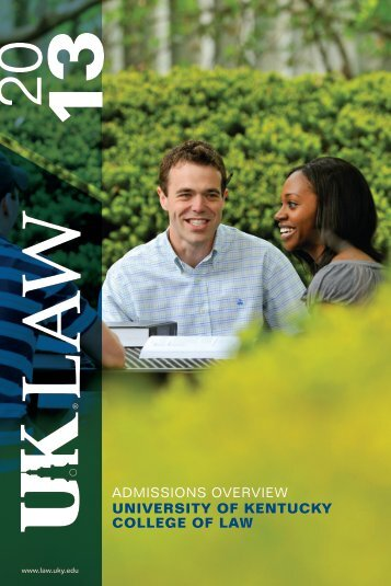 admissions overview university of kentucky college of law