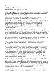 Landesregierung Sachsen-Anhalt und Landrat der westlichen ...