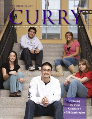 Fostering the Next Generation of Philanthropists - Curry College