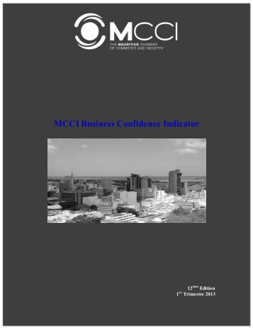 MCCI Business Confidence Indicator