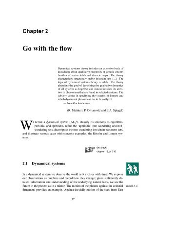 Chapter 2 Go with the flow - Chaos: Classical and Quantum