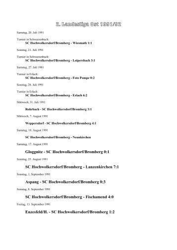 saison 1991/92_2. Landesliga [393 kB] - SC HOWODO