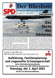 Nr.55 - SPD Zoo