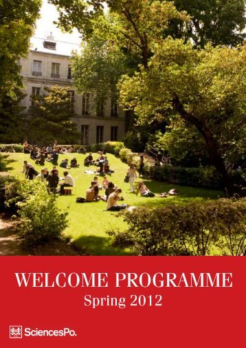 WELCOME PROGRAMME - Sciences-Po International