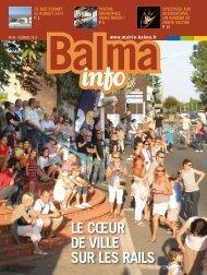 LE CŒUR DE VILLE SUR LES RAILS - Mairie de Balma