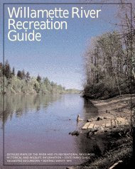Willamette River Recreation Guide - City of Springfield