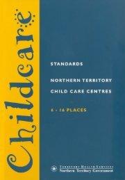 Childcare Standards 6-16 - DHCS Digital Library