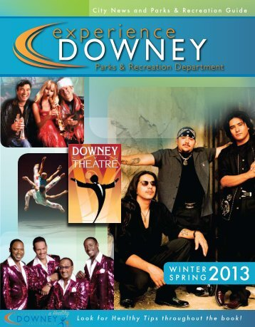 Parks & Recreation Guide - City of Downey