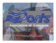 Louisiana Ports Deliver