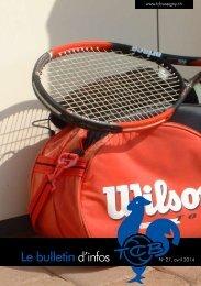 bulletin info - Tennis Club Bussigny