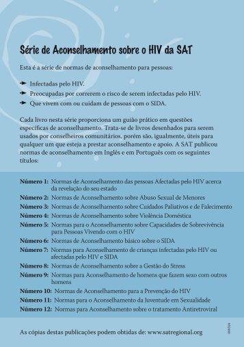 Normas para aconselhamento sobre o tratamento ARV - Southern ...