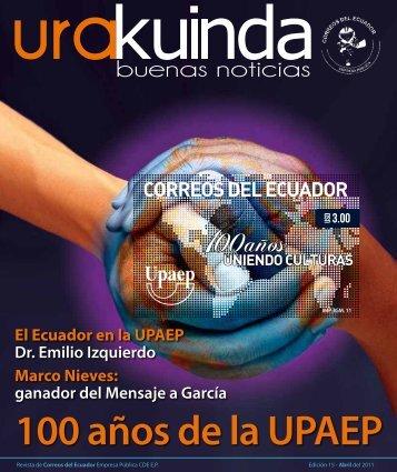 100 años de la UPAEP - Correos del Ecuador