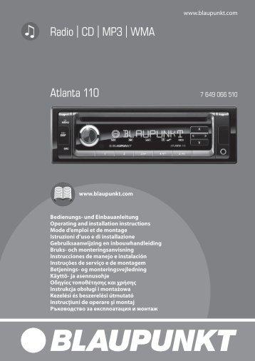 Atlanta 110 - Blaupunkt