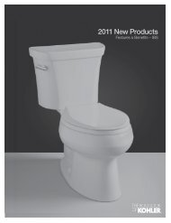 2011 New Products - me.KOHLER.com
