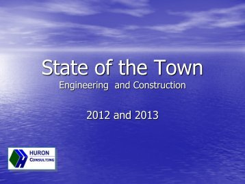 State of the Town - Town of Poolesville, Maryland
