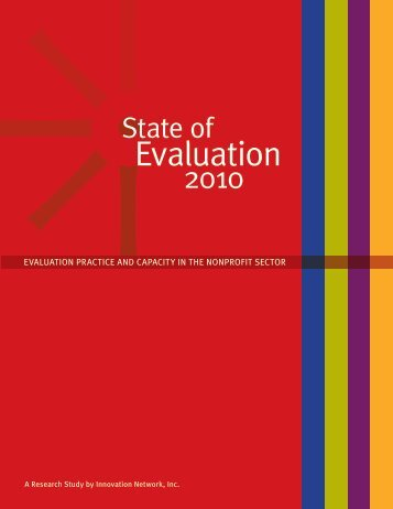 State of Evaluation 2010 - Innovation Network