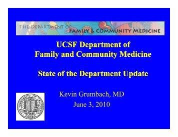 FCM Strategic Planning Priorities - Family and Community Medicine ...