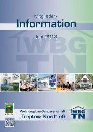Mitglieder-Information 1 / 2013 laden - Wohnungsbau ...