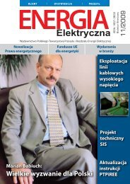 numer 11/2009 - E-elektryczna.pl