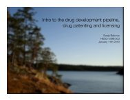 Jan 11th - Increasing Access to Essential Medicines in Developing ...