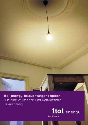 Für eine effiziente und komfortable Beleuchtung