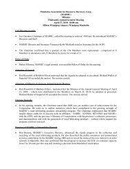 MARRC - Alberta Used Oil Management Association