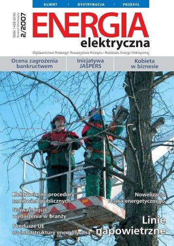 numer 2/2007 - E-elektryczna.pl