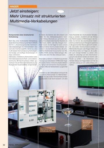 Mehr Umsatz mit strukturierten Multimedia-Verkabelungen