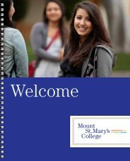 download - Mount St. Mary's College